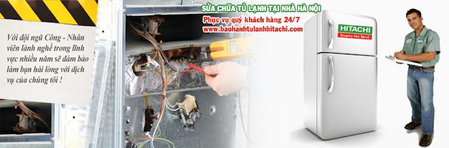 Chuyên sửa chữa tủ lạnh HITACHI tại Hà Nội