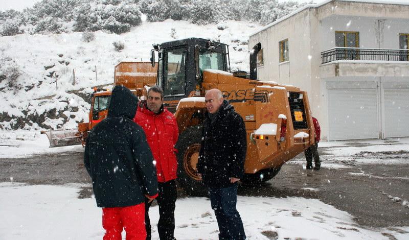 Η επέλαση του χιονιά: Η κατάσταση αυτή την ώρα στον Έβρο