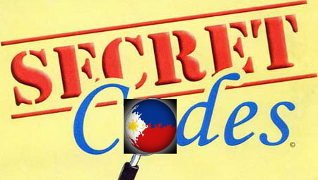 Dr Dave's Filipino Scene (Blog): Is There a Secret Code? Deciphering