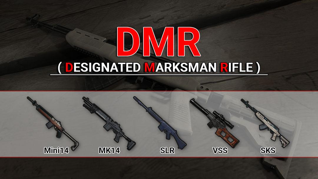 Andalan! Inilah Senjata DMR Terbaik di PUBG Mobile