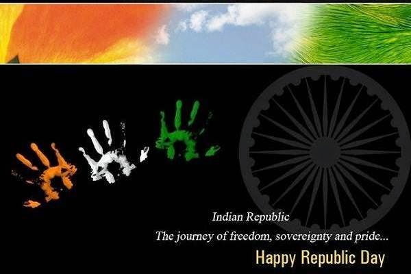 Happy Republic Day 2017 Greetings Cards - Top Latest HD Cards Of 26 January