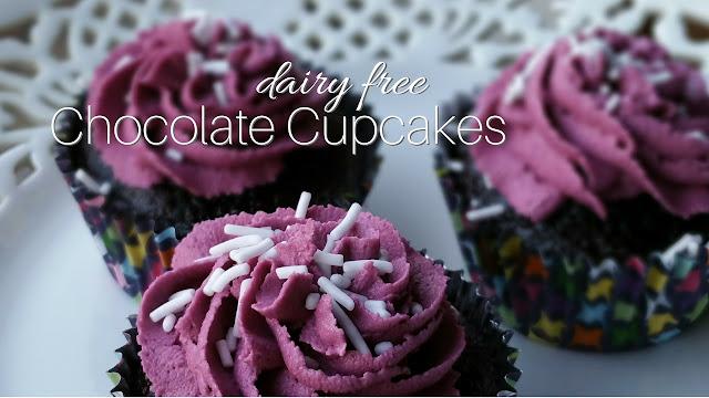 Dairy free, nut free Chocolate Cupcake recipe