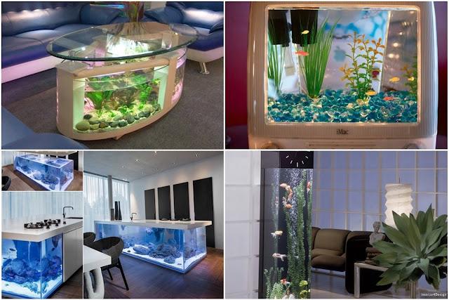10 Amazing Ideas To Use Aquarium In Home Decor