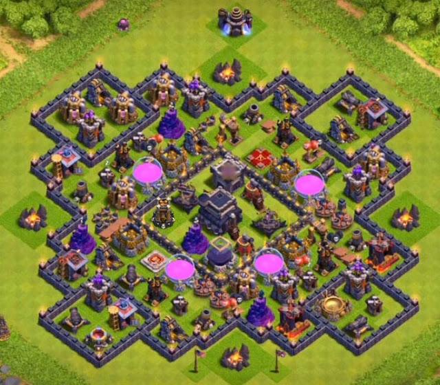 level 9 farming base anti loot