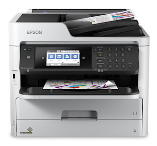 sparing multifunction PC printer that drives yield Epson WorkForce Pro WF-C5790 Drivers And Review