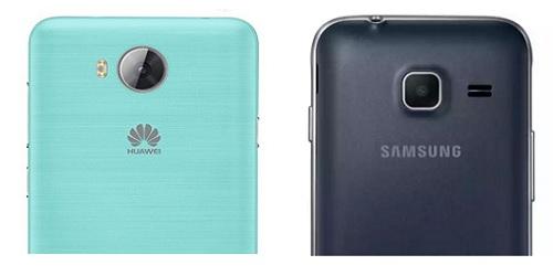 Huawei-y3ii-VS-Samsung-galaxy-j1-2016-Compare