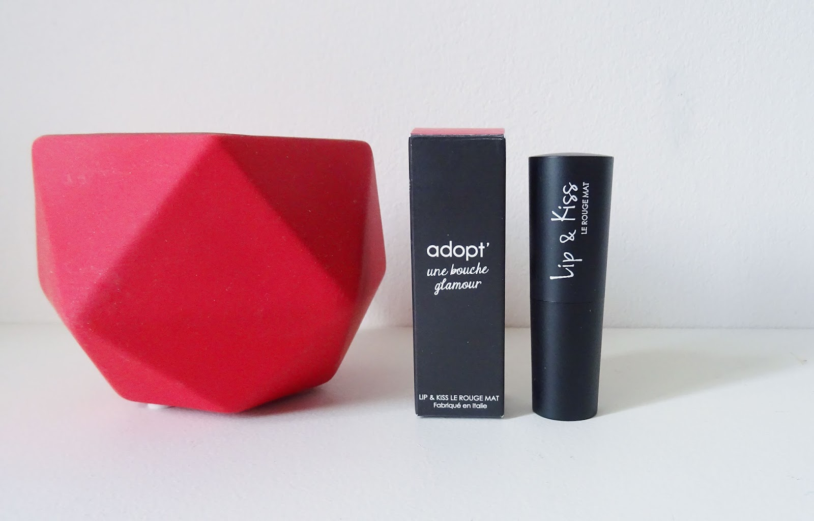 Lip & Kiss, Le rouge mat Adopt'