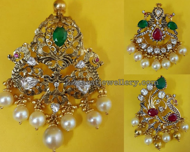 Light Weight Pendant Sets by Mohini Jewellers