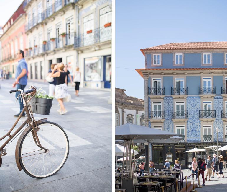 Oporto-rua-das-flores-calle-encanto-edificios