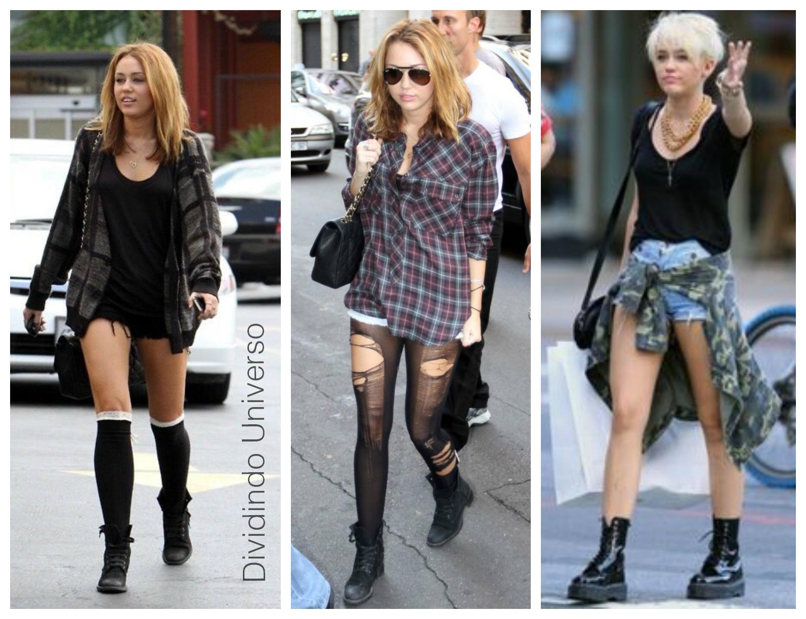 Miley cyrus, Miley Cyrus Tumblr, Miley Cyrus Look, Miley Cyrus Coturno, Miley Cyrus Look Tumblr