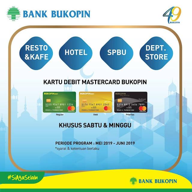 #BankBukopin - #Promo Cashback 25% Super Ketupat Ramadhan 2019