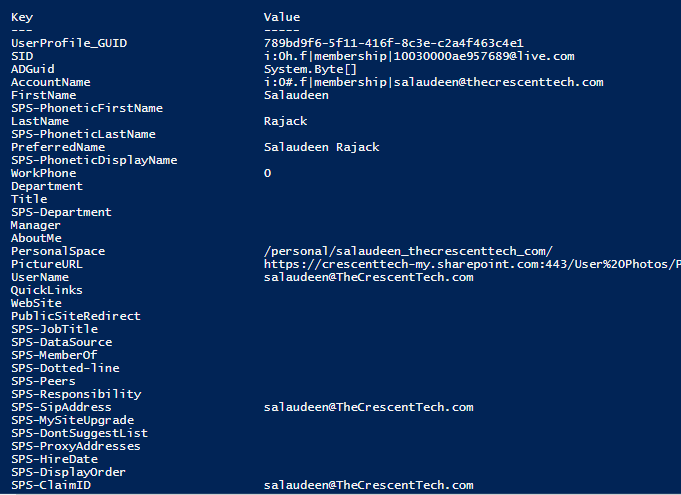 call sharepoint online rest api from powershell