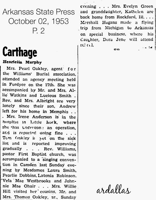 Carthage-Arkansas State Press-October 02, 1953