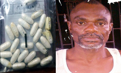 Nigerian Man Enroute To Madagascar Excretes 270 Grammes Of Cocaine