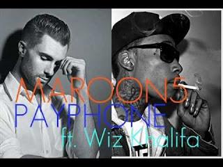 Chord dan Lirik Maroon 5 ft. Wiz Khalifa - Payphone