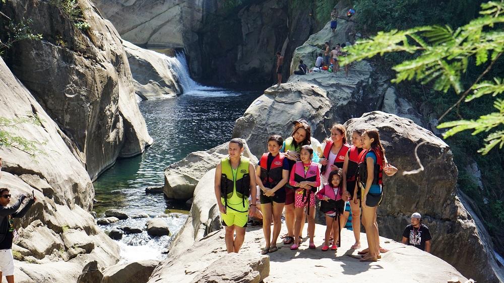 Tangadan Falls, San Gabriel, La Union, La Union, Family and Places, Family vacation, getaway with family, where to go in La Union, waterfalls, Tangadan Falls, San Gabriel, Philippines,