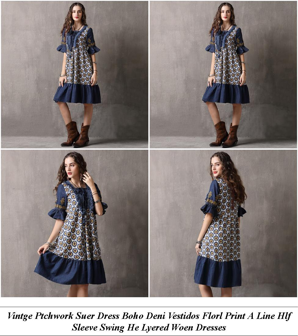 Gown Dress Design - Top Womens Clothing Shops - Lack And White Striped Off The Shoulder Dress