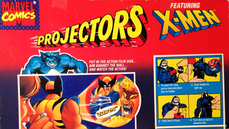 X-men Projectors Toy Biz Marvel Comics