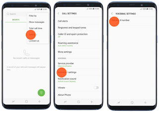 Voicemail Galaxy S8