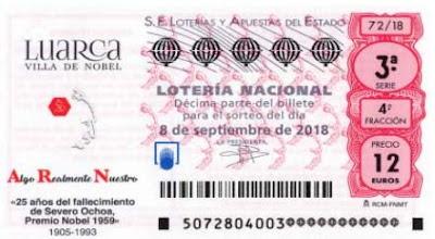 loteria nacional especial septiembre