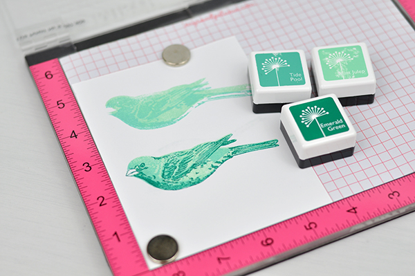 5 Amazing Things You can Do with a Misti Stamping Tool. #jengallacher #mysweetpetunia #misti #cardmaker #stamping