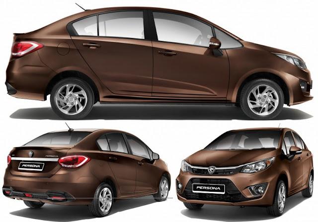 Kereta Compact Sedan Popular di Malaysia - Proton Persona