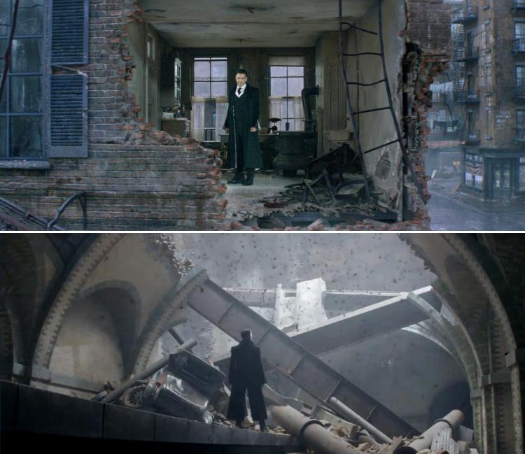 Fantastic Beasts Newt Scamander Parallels
