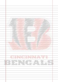 Papel Pautado Cincinnati Benagls PDF rabiscado para imprimir na folha A4