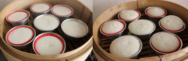Steam rice cake