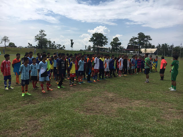 Ratusan Peserta Jalani Seleksi Jaring Atlet Sepakbola U15