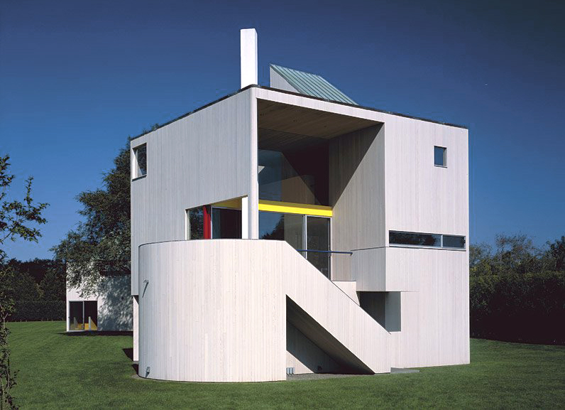 Robert and Rosalie Gwathmey Residence and Studio Designed by Charles - maquette d une maison