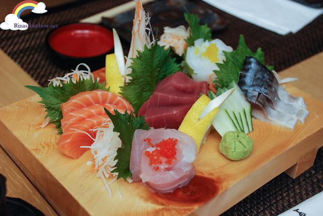 Moriawase Take Sashimi