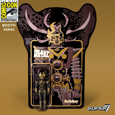 San Diego Comic-Con 2017 Exclusive Jack Kirby's Lord of Light Black & Gold Variant ReAction Retro Action Figure by Super7 x Heavy Metal
