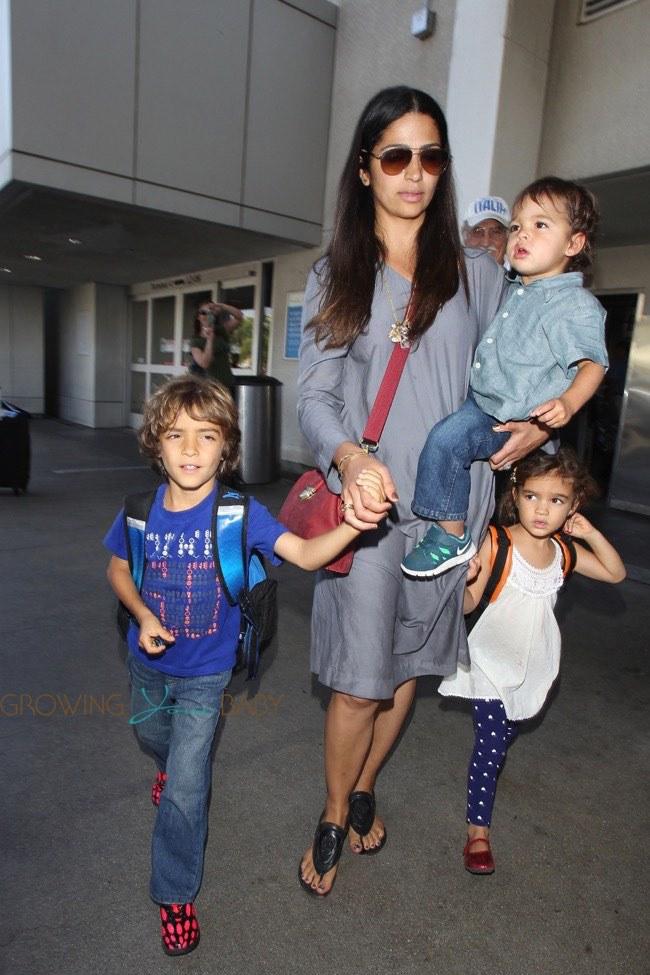 Matthew McConaughey and wife Camila Alves call new son  - livingstone alves mcconaughey