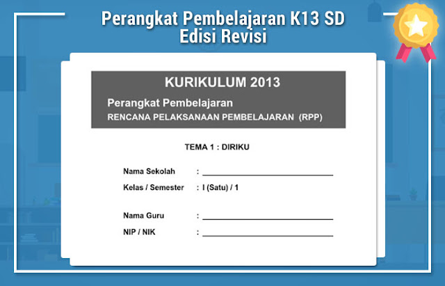 Perangkat Pembelajaran K13 SD Edisi Revisi