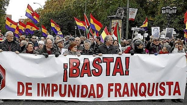 Contra la impunidad franquista