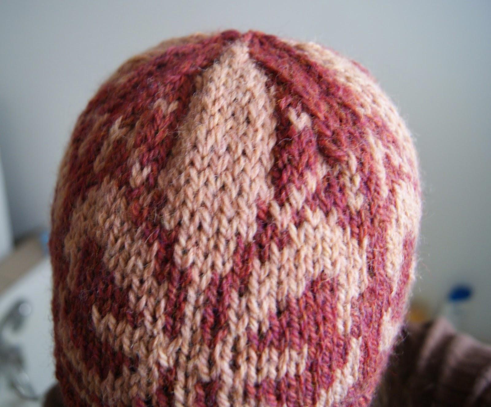 tuque fleur de lys tricot maude design