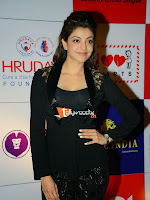 Kajal at CCL Pressmeet-cover-photo