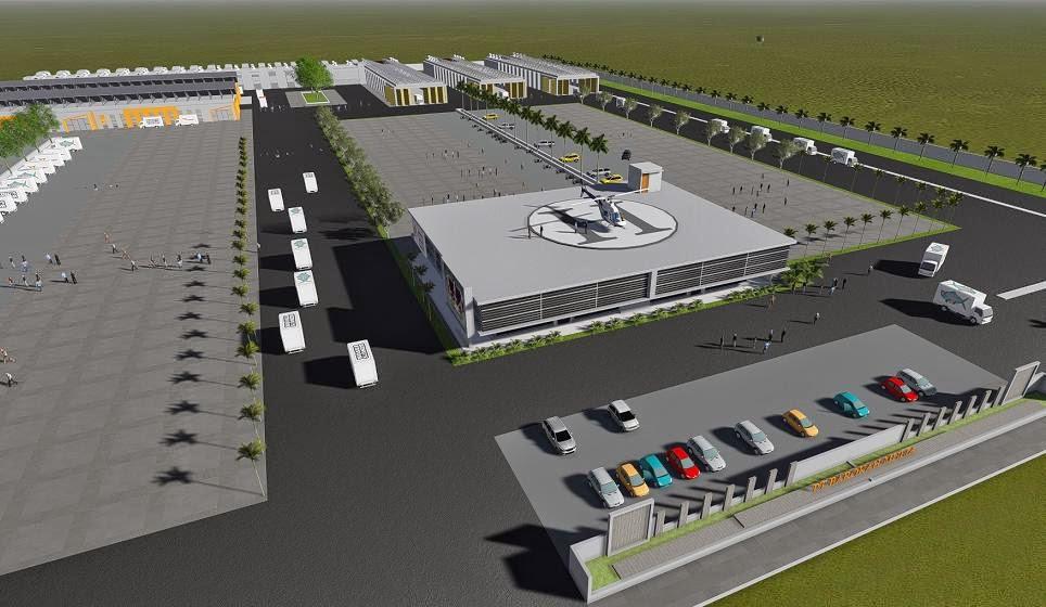 Jasa Gambar Pabrik Desain Gudang Warehouse