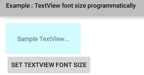 Autosizing TextViews | Android Developers