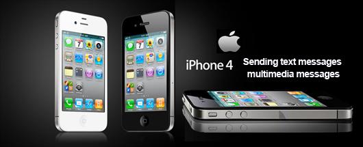 Cara Mengirim pesan teks dan multimedia pada iPhone 4S