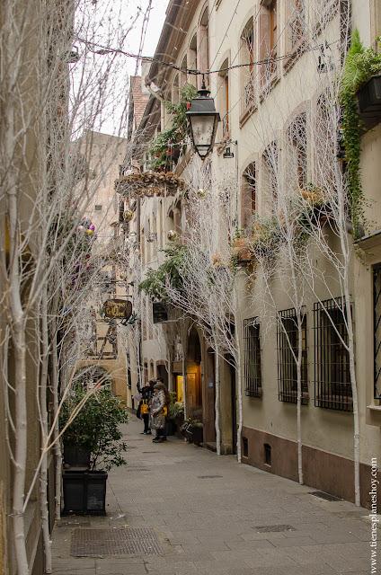 Rue des Orfebres Estrasburgo viaje Alsacia
