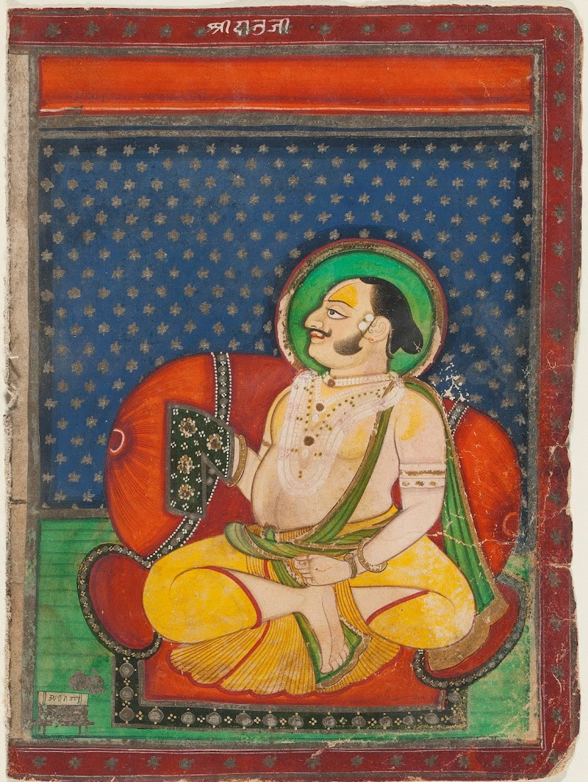 Pushti Marg Teacher - Nathwara Painting
