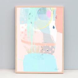 Pastel Modern Art Print