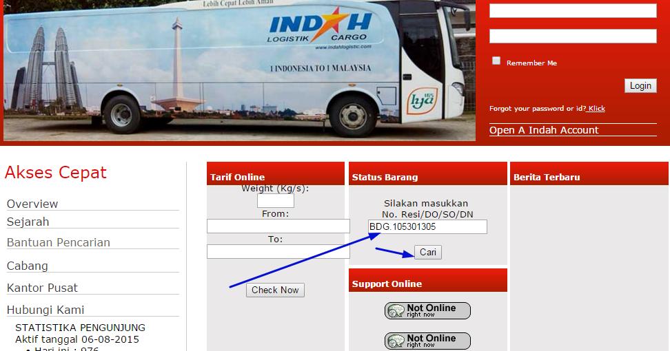 Cara Cek Nomor Resi Indah Cargo Logistik | Cara Cek Terbaru