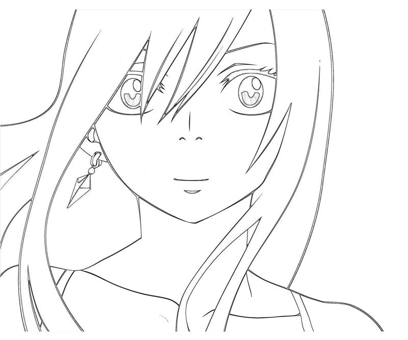 Erza Fairy Tail Color Coloring Pages