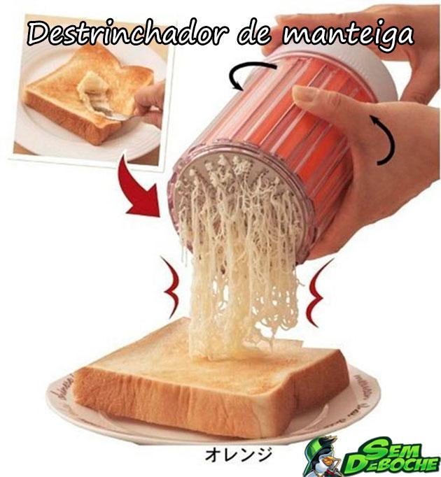 DESTRINCHADOR DE MANTEIGA