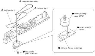 Master Electronics Repair !: DISC CHANGER DISASSEMBLE