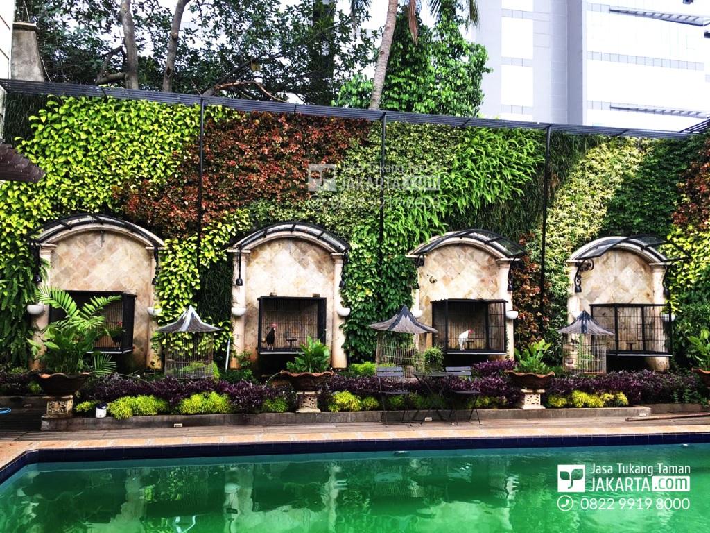 jasa pembuatan taman dinding vertikal garden