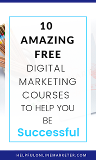 Stop overpaying for courses. Find out how you can access free digital marketing courses in my blog post. Free online courses, free blogging courses, free online marketing courses.
